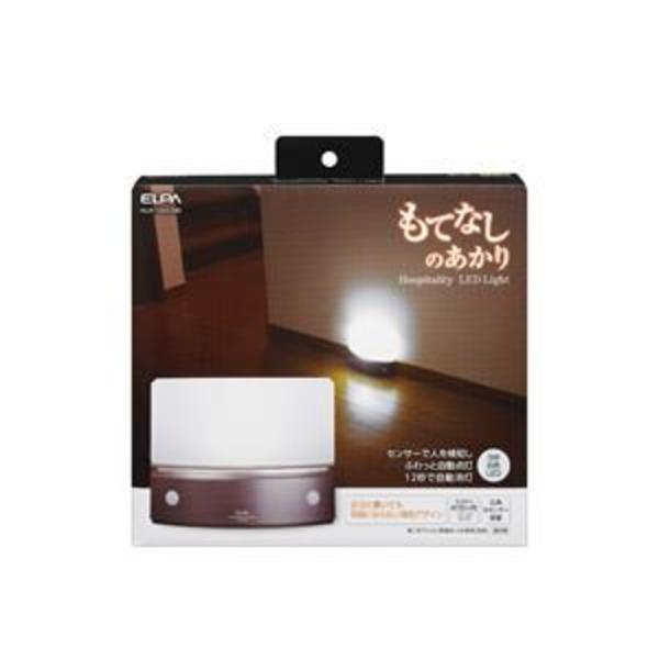 ELPA(エルパ) もてなしのあかり 据置型薄型 3W白色LED HLH-1203(DB)