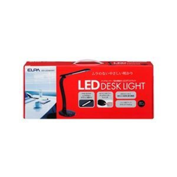 ELPA(エルパ) LEDデスクスタンドライト 4段階調光 ブラック AS-LED06(BK)