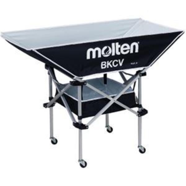 molten(モルテン) エキップメント 平型ボールカゴ 背低 BKCVLBK