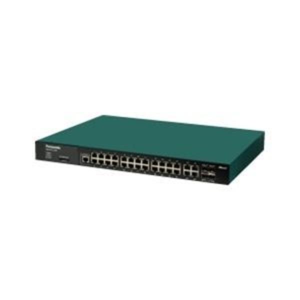 パナソニックESネットワークス 28ポートL2スイッチングハブ(Giga対応) ZEQUO 2200 PN26241