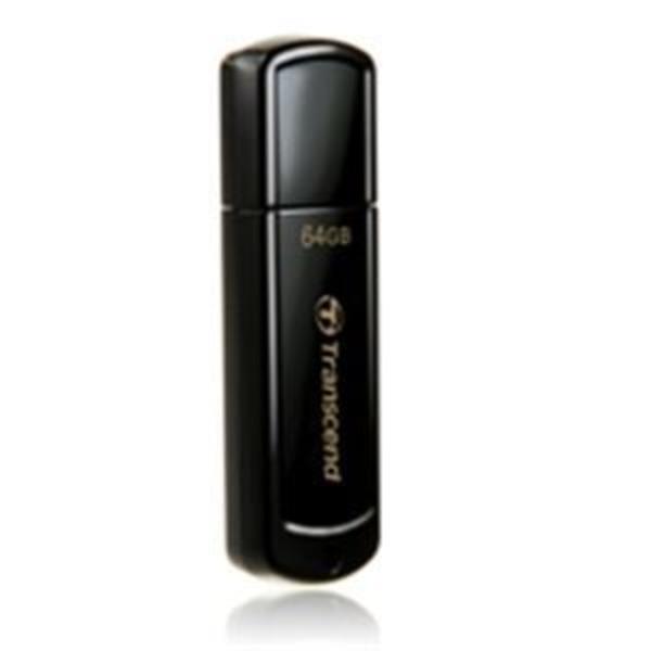 トランセンド USBメモリ 64GB ブラック TS64GJF350