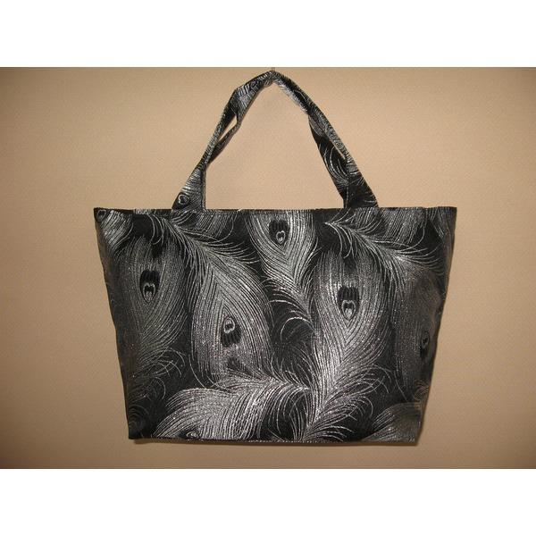 「ふじやま織り」手提げバッグ マグネット開閉式