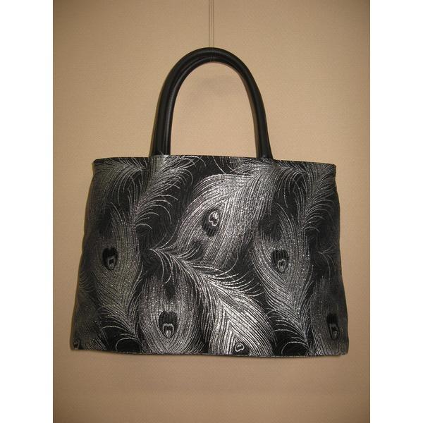 「ふじやま織り」ハンドバッグ