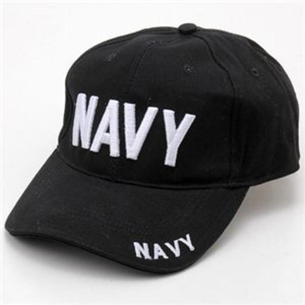 米軍 ベースボールキャップ&USSキャップ NAVY