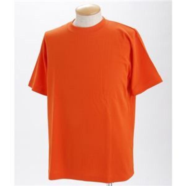 ドライメッシュポロ&Tシャツセット オレンジ 3Lサイズ