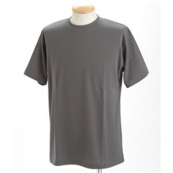 ドライメッシュポロ&Tシャツセット ダークグレー SSサイズ