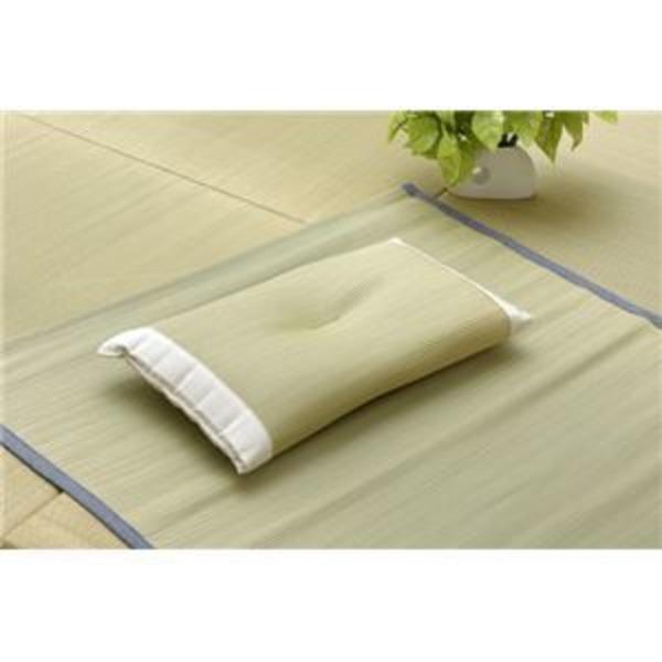 医師との共同開発 『アスク い草枕 箱付』 50×30×10〜12cm (中材:い草チップ)