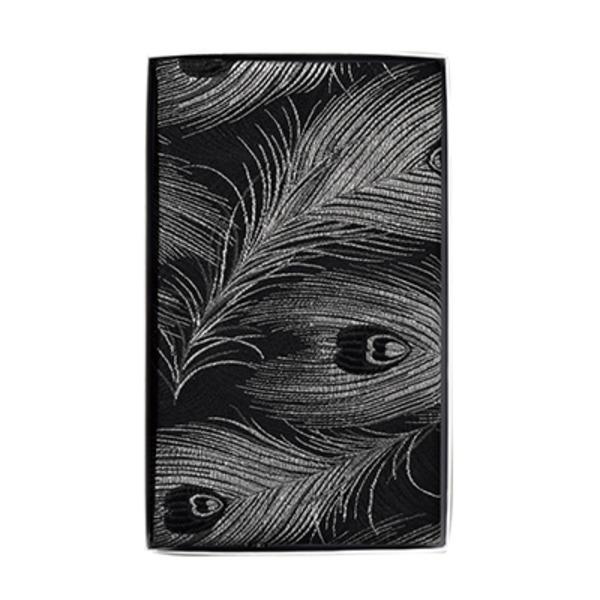 「ふじやま織り」ふくさ マチ付 孔雀