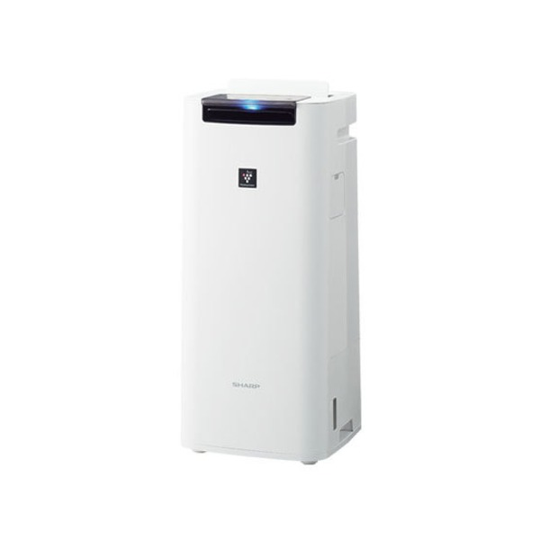 【SHARP】プラズマクラスター25000搭載 加湿空気清浄機(空清18畳まで/加湿12畳まで)ホワイト系/KI-JS40