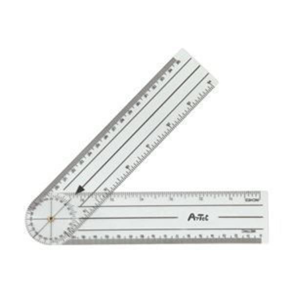 (まとめ)アーテック ゴニオメーター(プラスチック角度計) 【×5セット】