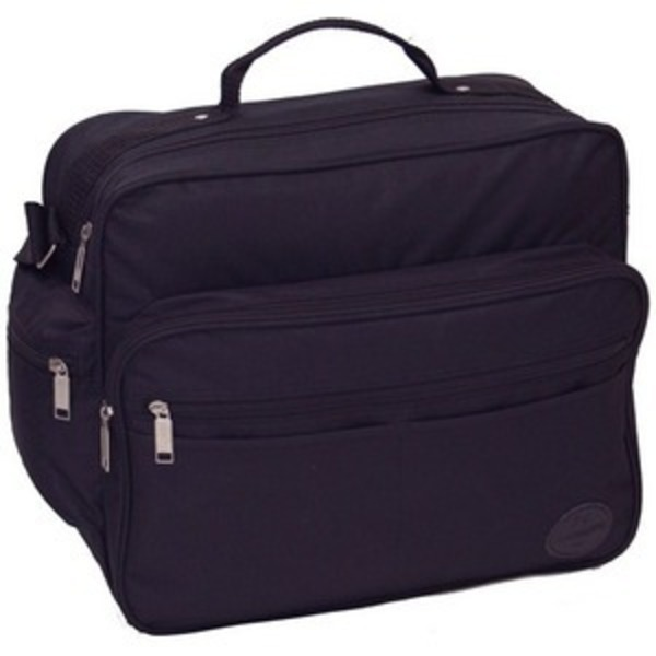 メンズビジネスショルダーバッグ 横型 IK8109 クロ