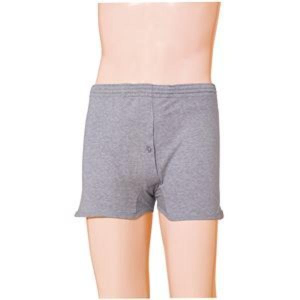(まとめ)片倉工業 失禁パンツ 紳士用吸水トランクス LL グレー 3652 0155AXV【×2セット】