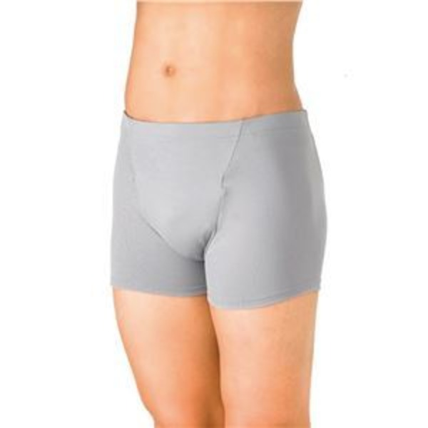 (まとめ)ピジョン 失禁パンツ かるる15mlトランクスフィットタイプ L グレー 11441【×2セット】