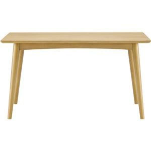 ボスコプラス ルンダ ダイニングテーブル 125cm ナチュラル DT10004Q-PN000