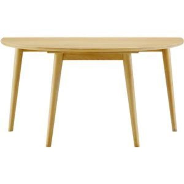 ボスコプラス ルンダ ダイニングテーブル 130cm ナチュラル DT10104F-PN000