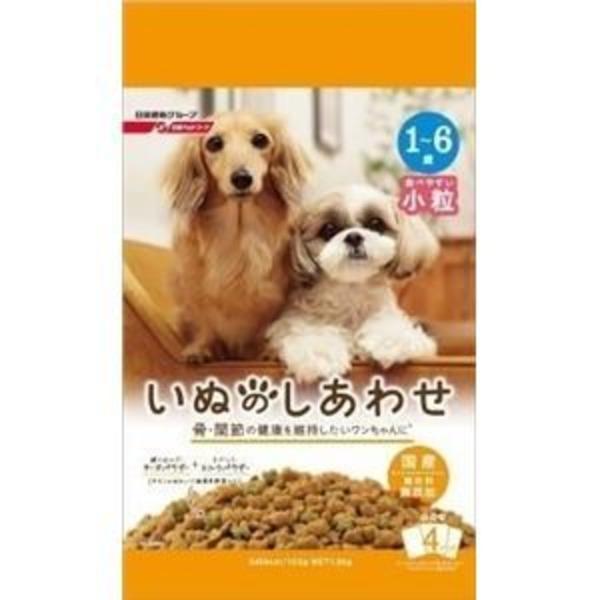 (まとめ)日清ペットフード いぬのしあわせ 小型成犬用 1.3Kg 【犬用・フード】【ペット用品】【×6セット】