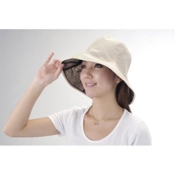 超軽量UVカット撥水帽子 ベージュ