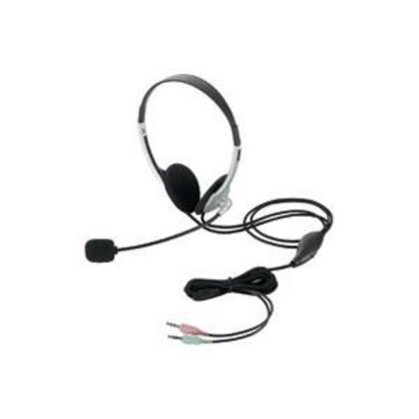 (業務用5セット)エレコム ELECOM ヘッドセット両耳オーバーヘッド HS-HP22SV