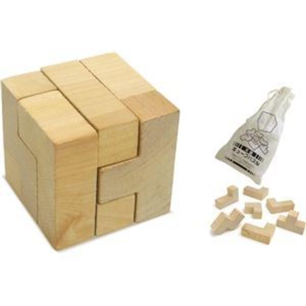 (まとめ)アーテック 木製キューブパズル 【×30セット】