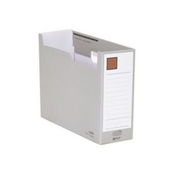 (業務用10セット) キングジム Gボックス/ファイルボックス 【A4/ヨコ型】 段ボール製 収納幅:100mm 4033 灰