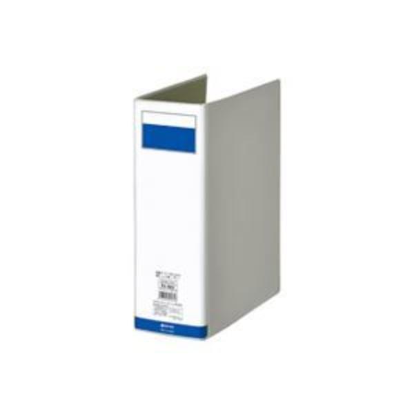 (業務用7セット)ジョインテックス パイプ式ファイル両開き灰1冊 D058J-DG ×7セット