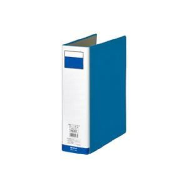 (業務用8セット)ジョインテックス パイプ式ファイル両開き青1冊 D056J-BL ×8セット