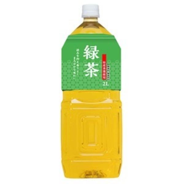 桂香園 緑茶 2L×12本(6本×2ケース)ペットボトル【鹿児島県産の茶葉使用】