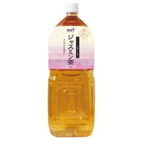 茶ゆり ジャスミン茶 2L×12本(6本×2ケース)ペットボトル