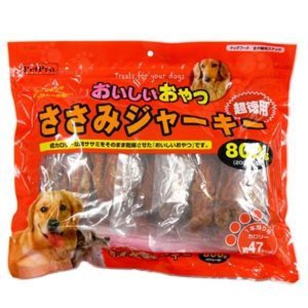 ペットプロ おいしいおやつ ささみジャーキー お徳用 800g 【犬用・フード】 【ペット用品】