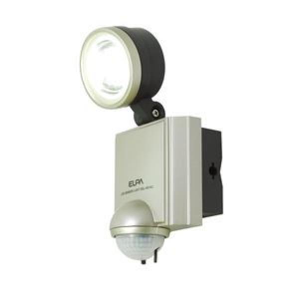 (業務用セット) ELPA 屋外用センサーライト AC電源 4wLED 1灯 ESL-401AC 【×2セット】