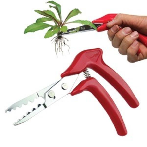 草抜くぞう/草取り道具 【右利き左利き対応】 刃の厚み2.5mm 波刃形状 〔ガーデニング 庭いじり 園芸〕