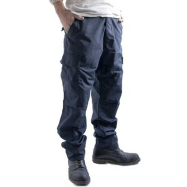 アメリカ軍 BDU カーゴパンツ /迷彩服パンツ 【 XLサイズ 】 リップストップ YN521007 ネイビー 【 レプリカ 】