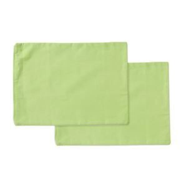 枕カバー 洗える ヒバエッセンス使用 『ひばピロケース』 グリーン 2枚組 約28×39cm