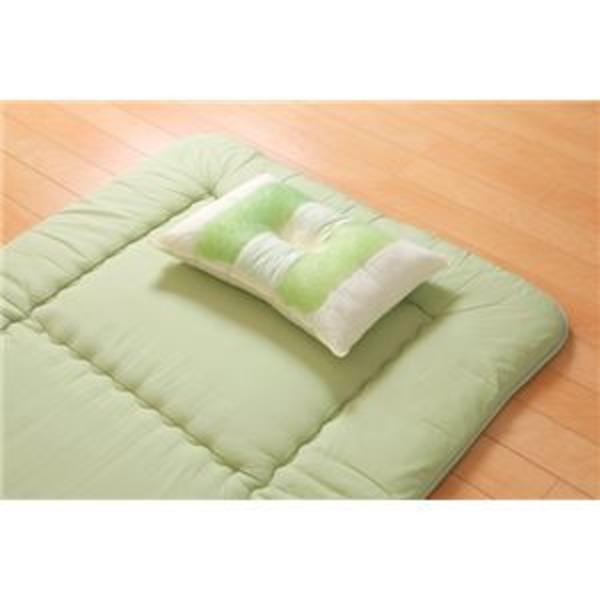 ピロー 枕 高さを選べる ヒバエッセンス使用 『森の眠りひば枕B』 約43×63×14cm 普通