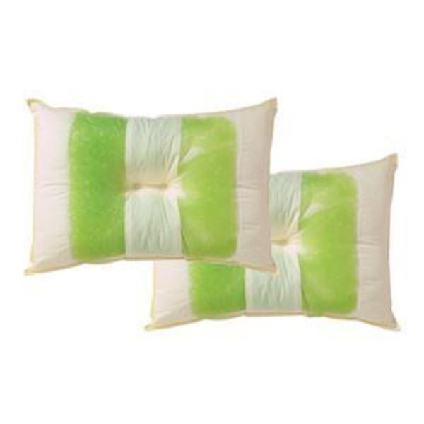 ピロー 枕 高さを選べる ヒバエッセンス使用 『森の眠りひば枕B』 2個組 約43×63×14cm 普通