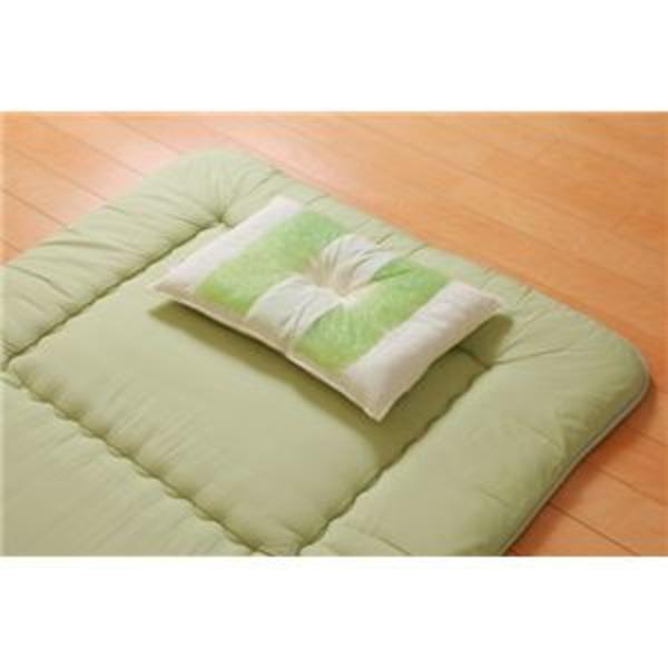 ピロー 枕 高さを選べる ヒバエッセンス使用 『森の眠りひば枕M』 約43×63×10cm 低め