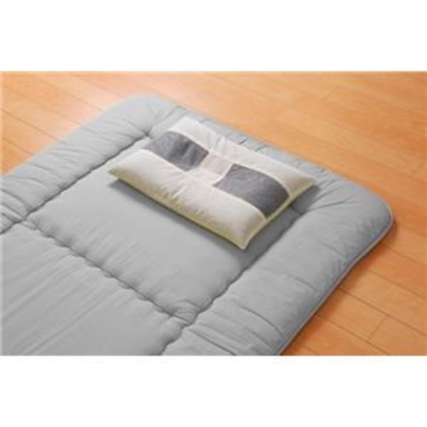 枕 ピロー 国産竹炭パイプ入り 『竹炭パイプ枕』 約35×50cm