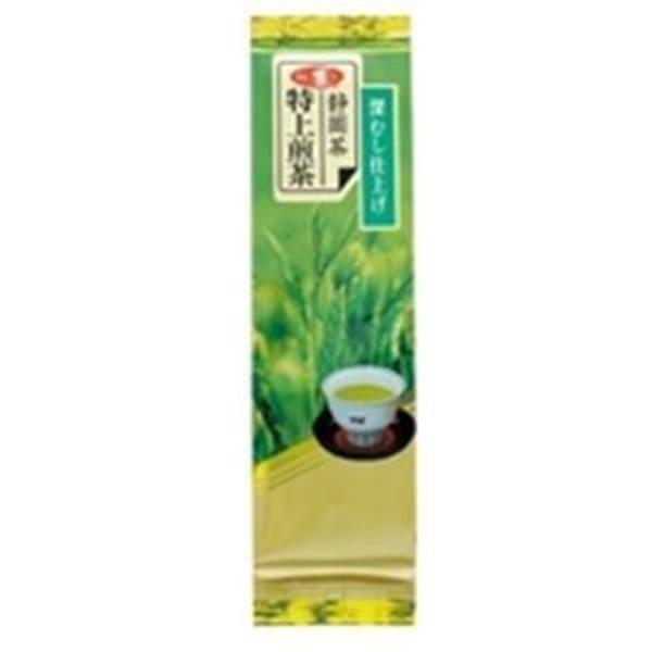 (業務用40セット) 朝日茶業 静岡特上級煎茶深蒸仕上げ 茶葉 100g