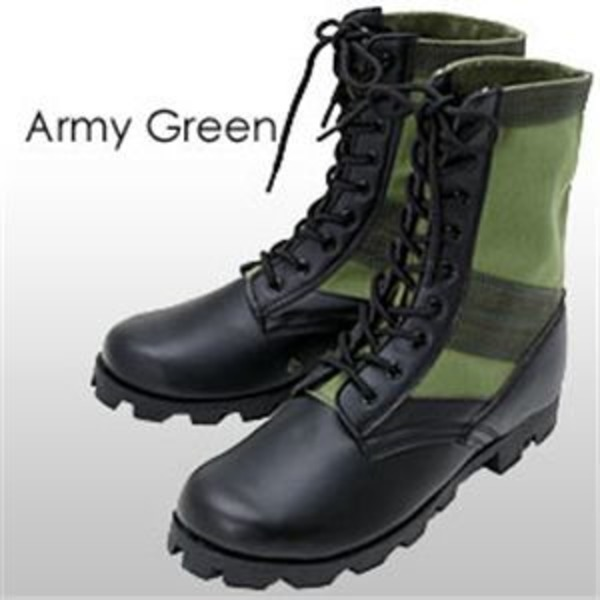 米軍 ジャングルブーツレプリカ アーミーグリーン 6W(25.0-25.5cm)