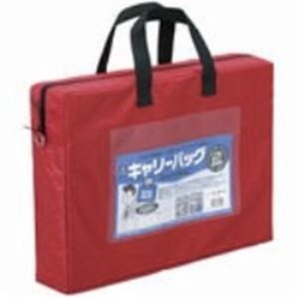 (業務用20セット) ミワックス キャリーバッグ CB-440-R A4 マチ付 赤