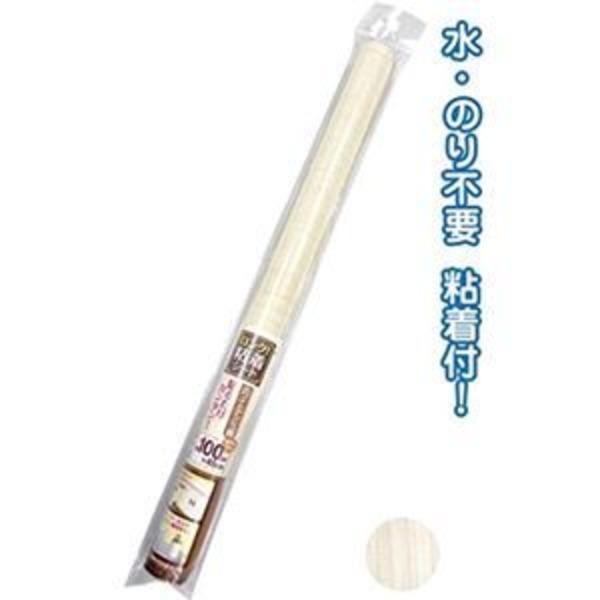 ロングデコレーション粘着シート45×100cmホワイトアッシュ調 【12個セット】 38-851