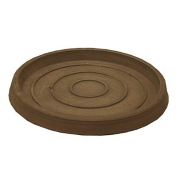 【4個入】 樹脂製 植木鉢用受皿/プランター用受皿(単品) 【トープ 直径26cm】 『ブラーシュ』