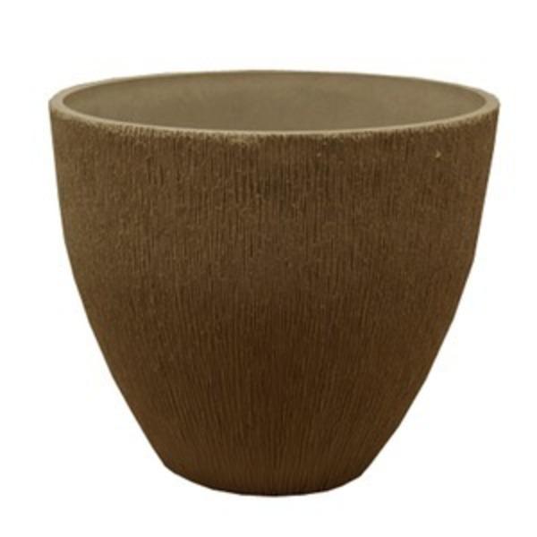 樹脂製 植木鉢/プランター 【ラウンド型 トープ】 直径30cm 底穴なし 『ブラーシュ』