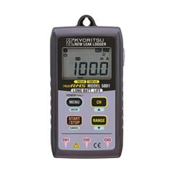 共立電気計器 漏れ電流用データロガー 5001【代引不可】