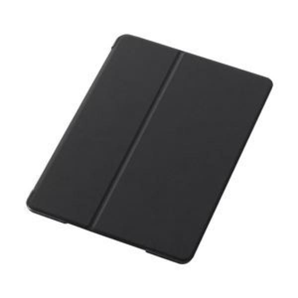 エレコム iPad Air用フラップカバー/スリープ対応/液晶保護フィルム付/ブラック TB-A13PVFBK