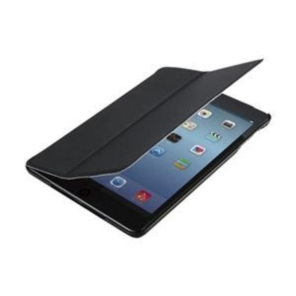 エレコム iPadmini(2012)/Retina(2013)用フラップカバー/液晶保護フィルム付/ブラック TB-A13SPVFBK