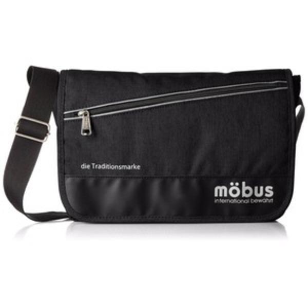 ドイツブランド Mobus(モーブス) メッセンジャーバッグ ブラック