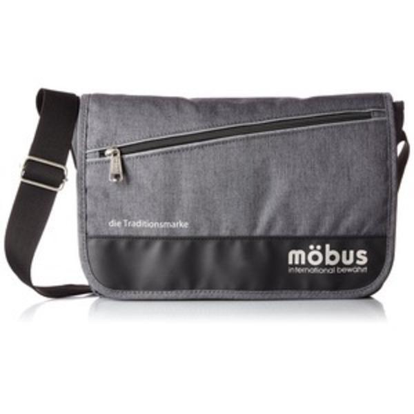ドイツブランド Mobus(モーブス) メッセンジャーバッグ グレー