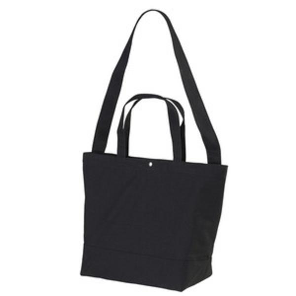 帆布製綿キャンパスコットンスイッチングトートバッグ2WAY ブラック