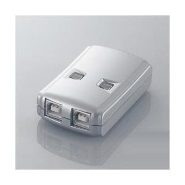 エレコム USB2.0対応切替器 USS2-W2